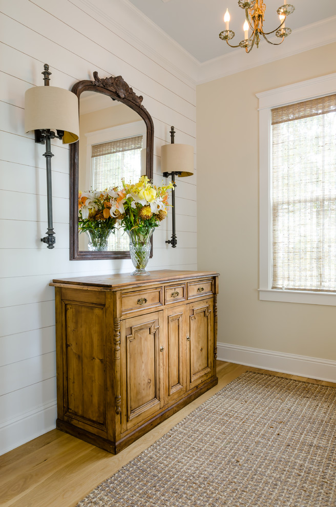 Example of a country entryway design in Other