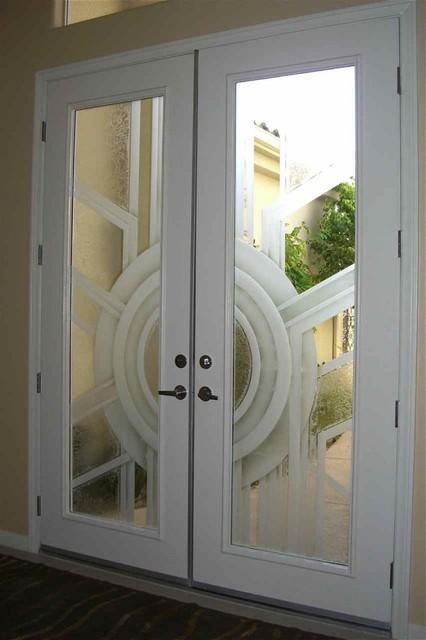 Sun Odyssey Glass Doors contemporary-entry