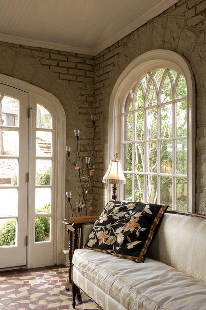 Sun Room Sitting traditional-entry