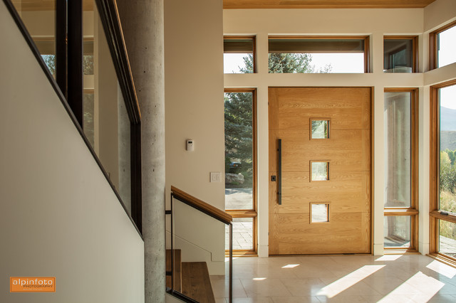 Sun Valley Residence - Williams Partners Architects contemporary-entry