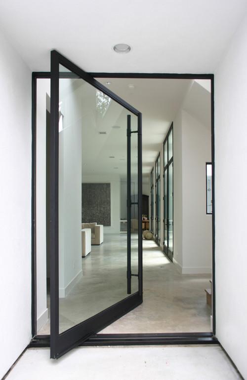 Sunset House modern entry