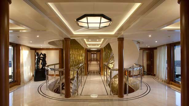Super Yacht Cove Lighting Traditional Entry