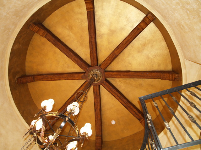 Superior Faux Wood Beams Mediterranean Entry Other Metro By Superior