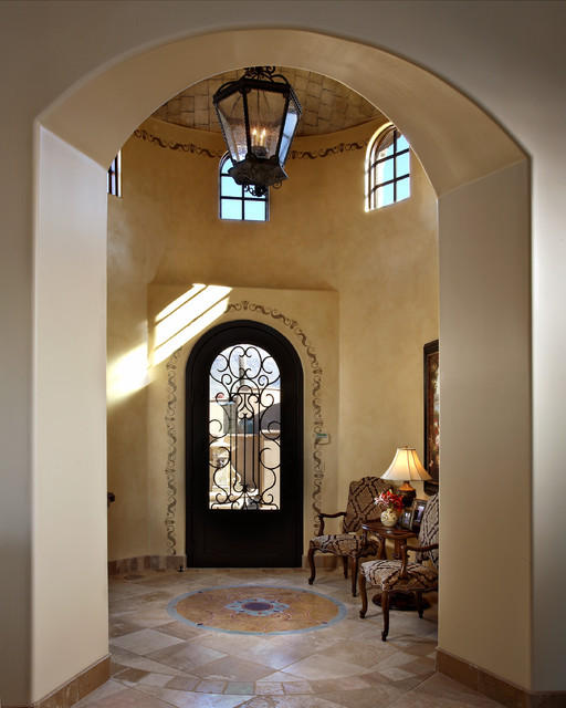 SUPERSTITION MOUNTAIN TRADITIONAL mediterranean-entry