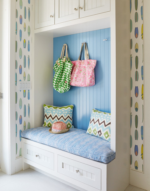 Surf shack beach style entry by andrew howard - Beach shack interior design ...