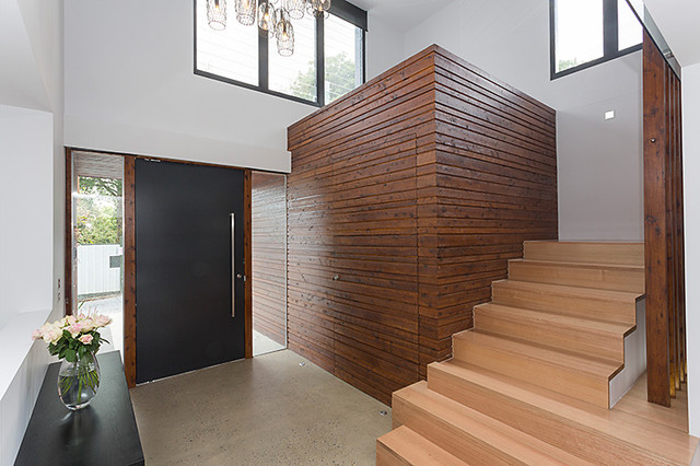 Surrey Hills Residence contemporary-entry