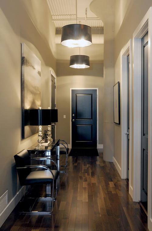 Design Idea Black Interior And Exterior Doors The Window Door