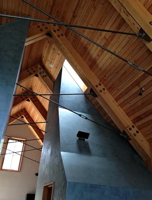 Tahoe Ridge House modern-entry