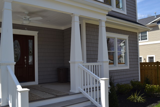 Tapered porch posts for Tapered porch columns