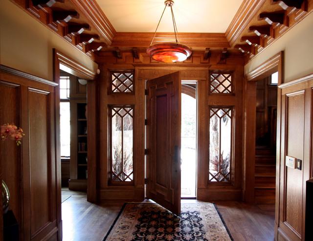 Taylor Lombardo Architects craftsman-entry