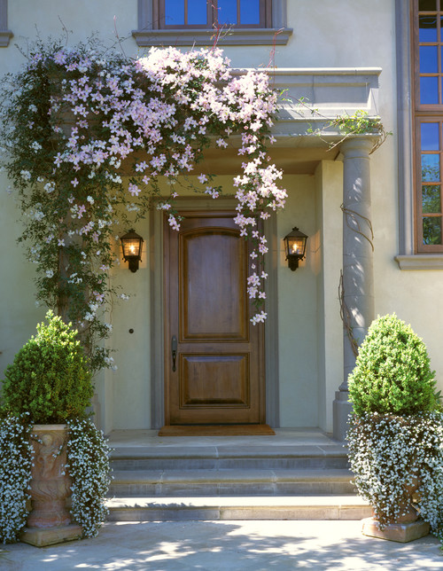 Taylor Lombardo Architects mediterranean entry