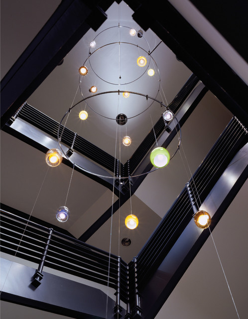 Tech Lighting Low-Voltage Inner Fire Pendant eclectic-entry