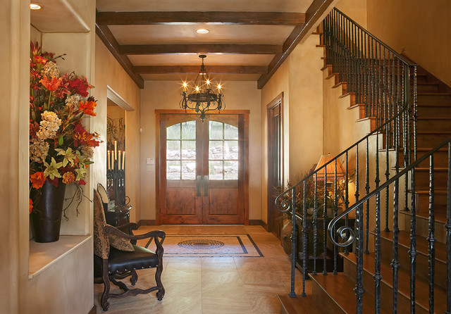 Texas Hill Country Style Rustic Entry Austin By Refined Interiors Llc