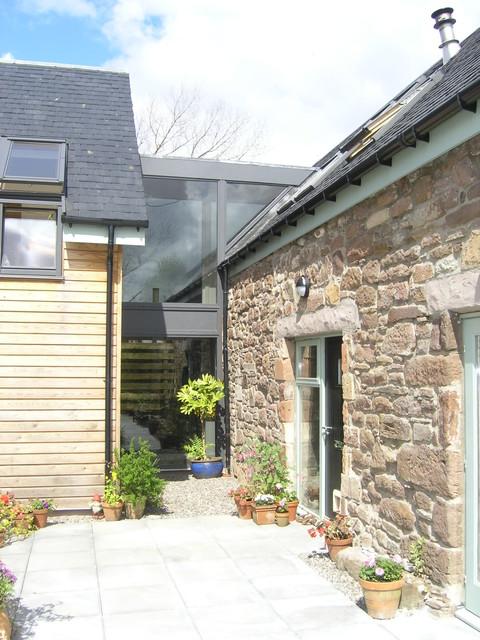 The Barn, Braco, Dunblane, Scotland farmhouse-entry