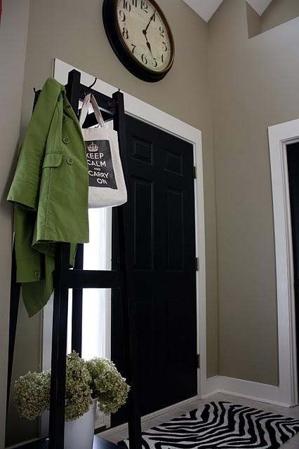 The Black Door contemporary-entry