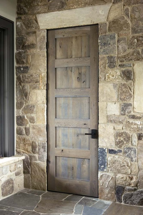 What Type Of Wood Is This Door Is The Interior Trim Paint Grade Or Stained W