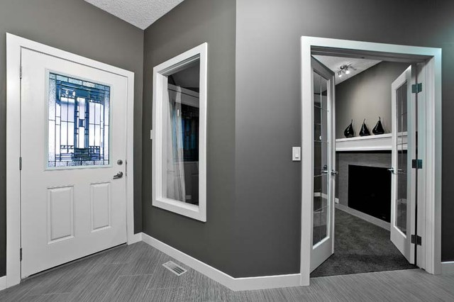 The Leera in Sherwood in NW Calgary, AB contemporary-entry