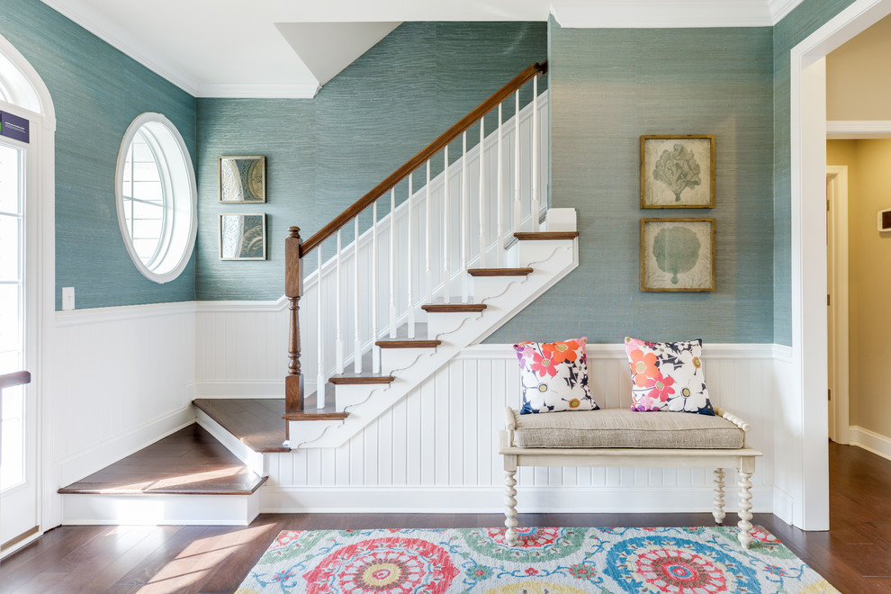 Transitional entryway photo in Other