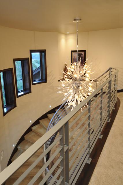 The Tamarack Foyer contemporary-entry