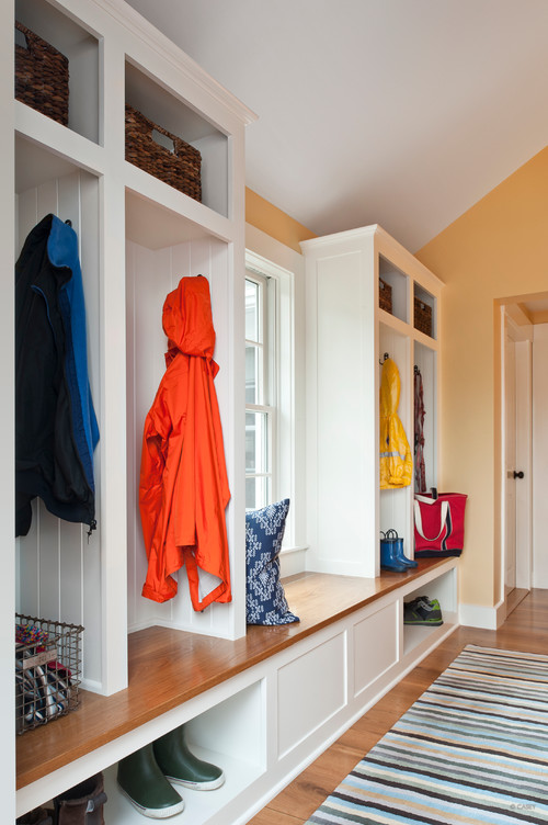 mudroom organization means giving everyone some personal space
