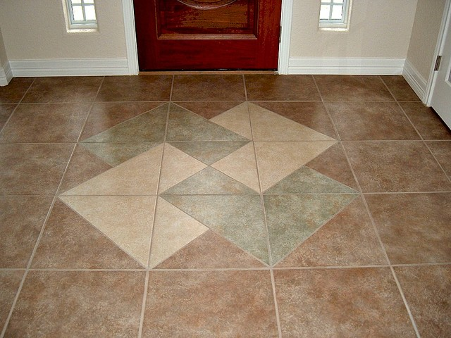 Foyer tile design traditional entry other metro by for Foyer tile patterns