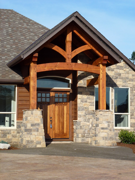 Timber Framed Entryways Showcase