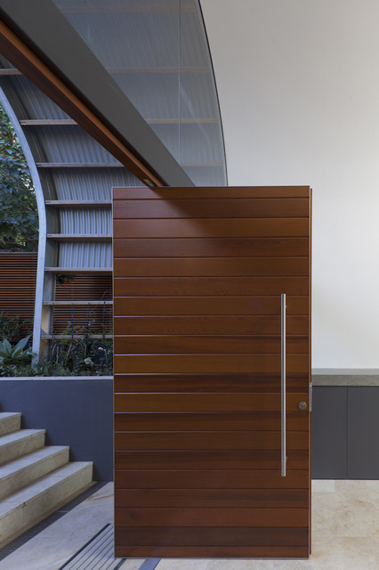 Timber front door contemporary-entry & Timber front door - Contemporary - Entry - Sydney - by Rudolfsson ... Pezcame.Com