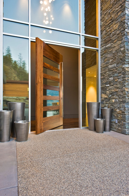 Timberhaven Homes Ltd. contemporary-entry