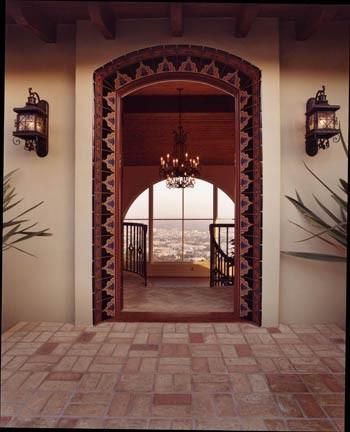 Tobias Architecture mediterranean-entry