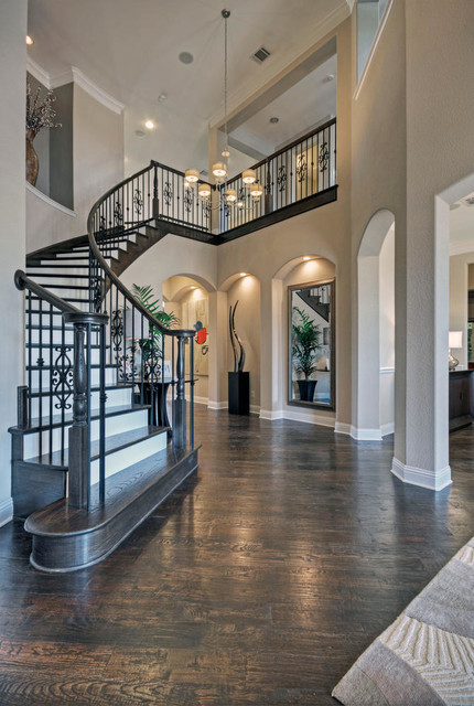 Toll brothers plano tx model contemporary entry for Modern home decor dallas