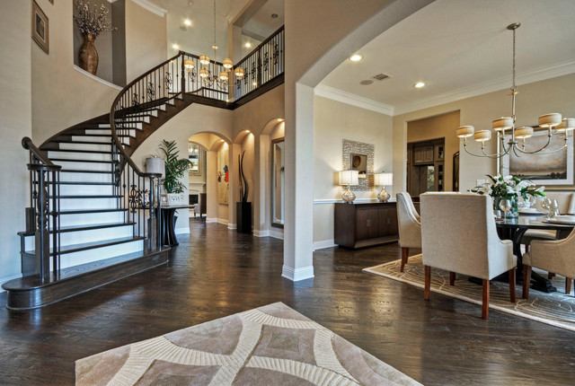 Toll Brothers Plano, TX Model Contemporary Entry