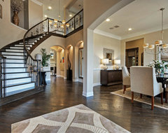 Toll Brothers Plano, TX Model contemporary-entry