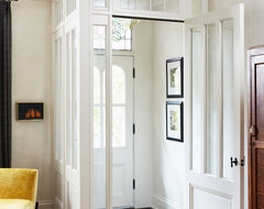 Toronto Cabbagetown Home traditional-entry