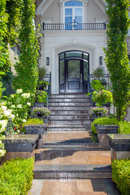 Toronto landscaping ideas front entrance with steps for Garden design ideas toronto