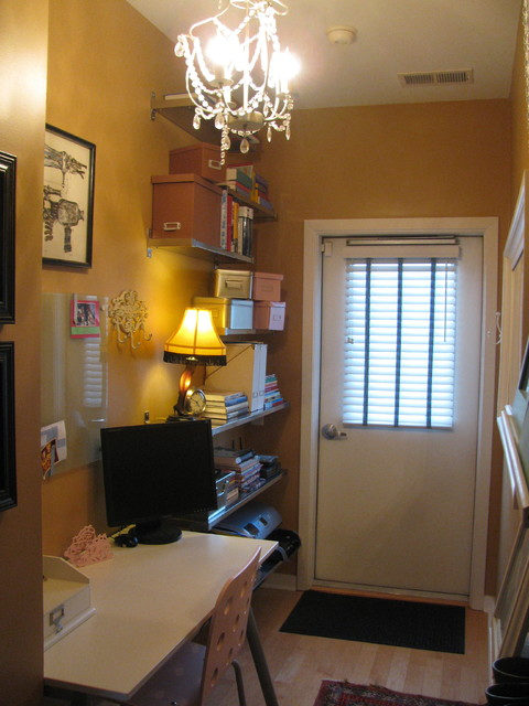Townhome traditional-entry