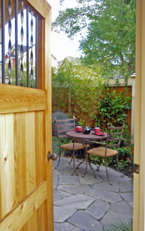 Townhouse Entry Patio