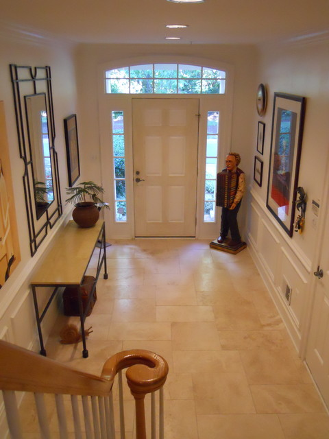 Townhouse Eclectic Entry Dc Metro By Lana Barth Design