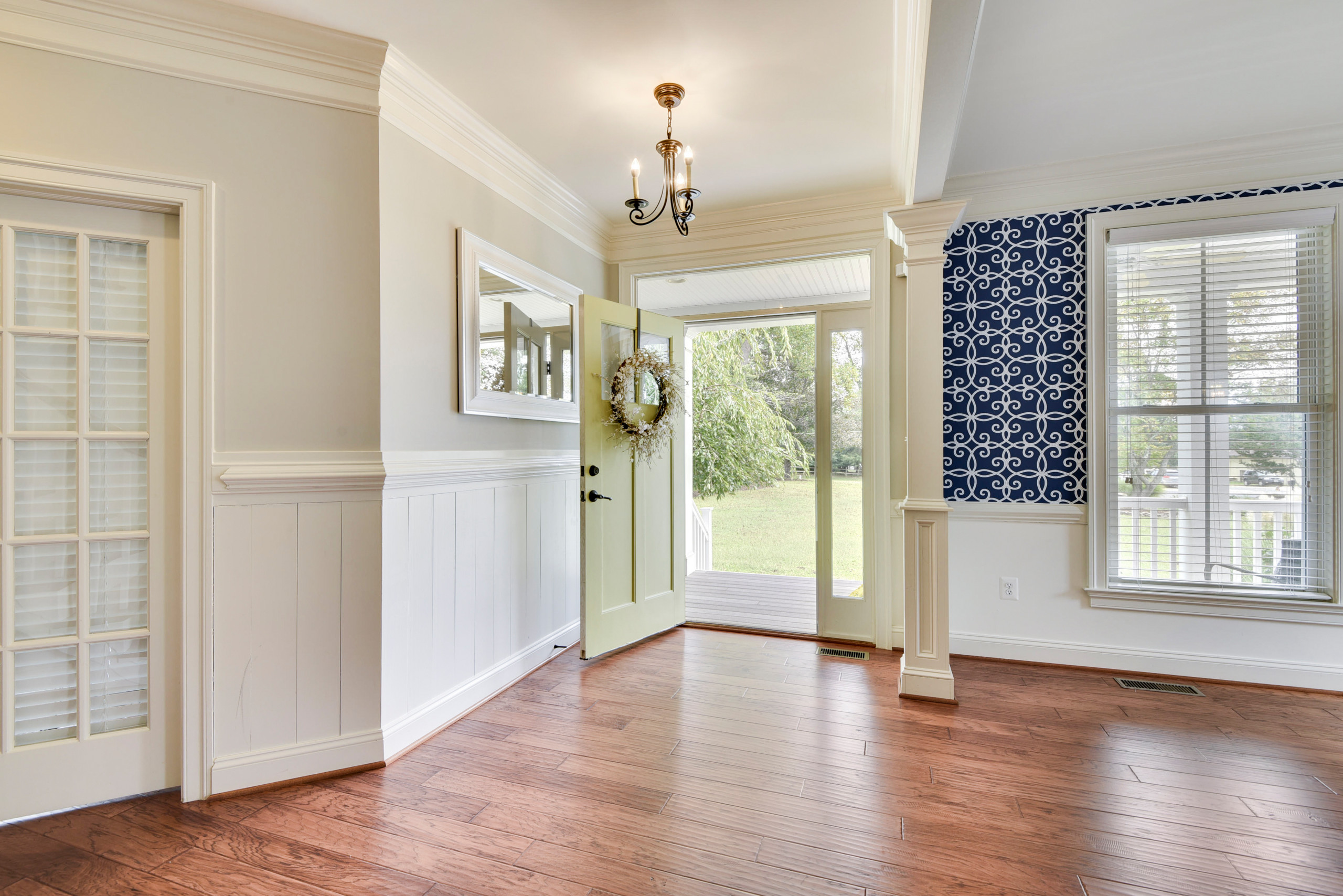 Traditional Colonial Home-Maryland- new construction