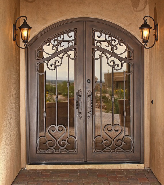 Iron Entry Doors Traditional Front Doors Phoenix By First Impression