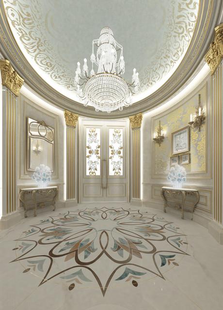 Foyer Decor Abu Dhabi : Private palace interior design dubai uae
