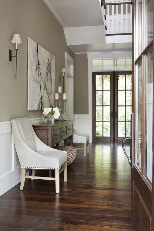 Paint Colors For Entryway Beauteous With Wood Floor Wall Color Photo