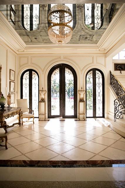 Traditional Home In Boca Raton Mediterranean Entry