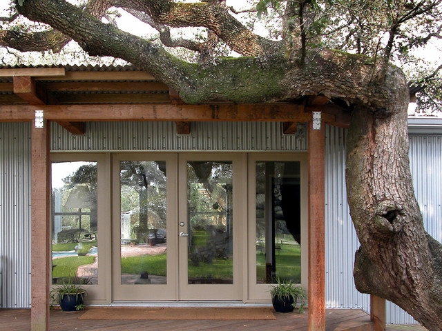 Trailer House Remodel Industrial Entry Austin By