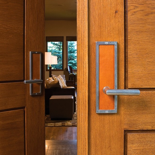 Transitional Entry Door Hardware By Rocky Mountain Hardware - Transitional - Entry - chicago ...