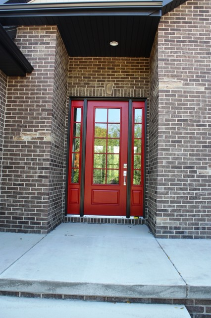 Transitional speculative home traditional-entry