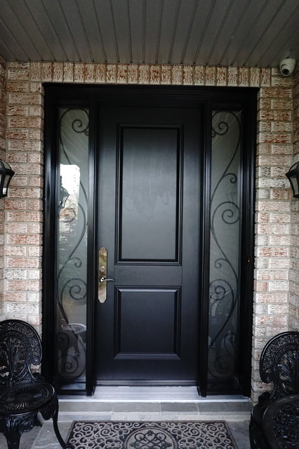 Transitional style entry doors - 2015 projects transitional-entry