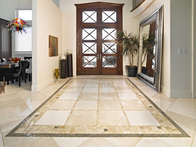 Travertine Entry Traditional Entry Other By Red