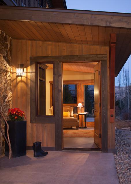 Tree Haus Renovation traditional-entry