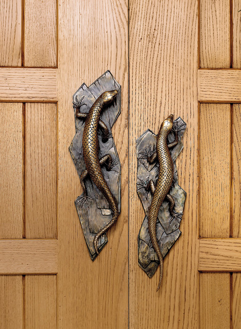 Tropical Nature Inspired Door Handles Tropical Entry