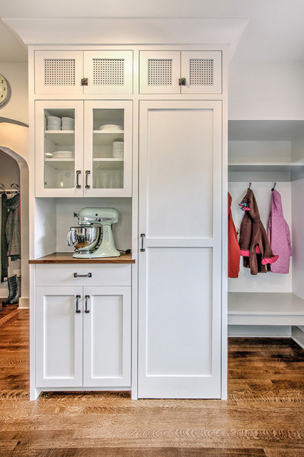 Tudor Kitchen - Pantry Wall - Traditional - Entry - seattle - by ADAPT Architecture